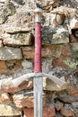 Knightly Sword Royalty Free Stock Photography - 1242877