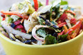 Close Up Of Rustic Salad Royalty Free Stock Photography - 12433407