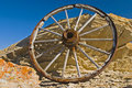 Wagon Wheels Of The West Stock Photos - 12437473