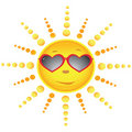 Sun In The Sun Glasses Royalty Free Stock Images - 12453429