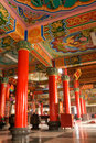 Color Building Interior Of Classic Chinese Temple Royalty Free Stock Photo - 12453685