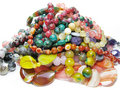 Heap Of Colored Beads Stock Photo - 12469480