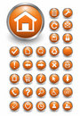 Web Icons, Buttons Stock Image - 12473861