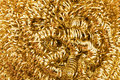 Gold Metallic Texture Stock Photography - 12479432