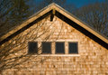 House With Wood Shingles Royalty Free Stock Image - 12481776