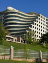 Curved Modern Office Building Stock Image - 12499011