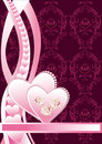 Floral Background Heart Stock Photo - 12499510