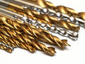 Set Of Drill Bits Stock Photography - 12504842