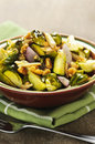 Roasted Brussels Sprouts Dish Royalty Free Stock Photos - 12514568