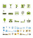 Hotel And Motel Icons Stock Images - 12527254