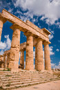 Greek Temple In Selinunte Royalty Free Stock Photography - 12531867