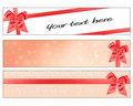 Valentines Day Banners Royalty Free Stock Image - 12539646
