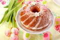 Easter Ring Cake Royalty Free Stock Photography - 12552347