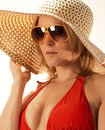 Young Blond Woman On A Sunny Day Stock Photos - 12557113