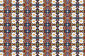 Abstract Fractal Background - Camomiles And Beads Royalty Free Stock Photo - 12569895
