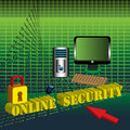 Online Security Royalty Free Stock Photos - 12572798