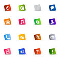 Cool Web Button Set Vector Royalty Free Stock Images - 12587079