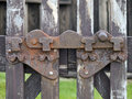 Old Iron Latch Stock Photo - 12590400