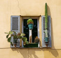 Window With Shutters Royalty Free Stock Image - 12608196