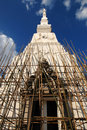 Pagoda Construction In Temple Of Thailand Stock Images - 12612634
