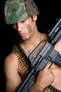 Sexy Gun Man Royalty Free Stock Photography - 12614037