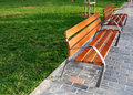 Benches In The Park Stock Images - 12625004