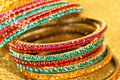 Colourful Indian Bangles. Stock Images - 12629624