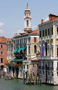 Grand Canal And Campanile Of San Apostoli, Venice Royalty Free Stock Photo - 12631445