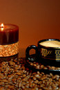 Candle And Cup Stock Images - 12642094