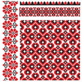 Ukrainian Pattern Embroidery Stock Image - 12649451