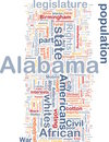 Alabama State Background Concept Royalty Free Stock Images - 12657699