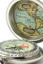 A Compass To Explore The World Stock Images - 12663124