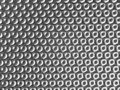Torus Pattern Shiny Metal Effect Background Royalty Free Stock Image - 12666766