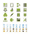 Server Side Computer Icons Royalty Free Stock Photo - 12669555