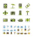 Travel, Trip And Holiday Icons Stock Photography - 12669562