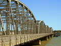 Old-Time Steel Bridge Stock Images - 1270424