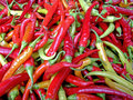 Hot Chilly Peppers Stock Photography - 1271362