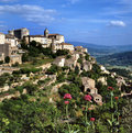 View At Gordes Royalty Free Stock Photography - 12703967