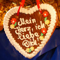 Gingerbread Heart (Lebkuchenherz)  I Love You  Royalty Free Stock Image - 12703996