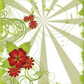 Abstract Floral Background Royalty Free Stock Photo - 12728685