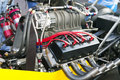 Dragster Engine Royalty Free Stock Photography - 12750357