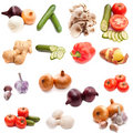 Set Of Vegetables Stock Photo - 12756950