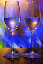 Two Wine Glasses Royalty Free Stock Image - 12782016
