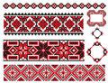 Ukrainian Element Old Embroidery Stock Photography - 12783752