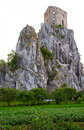 Old Castle On Rock Stock Image - 12786181
