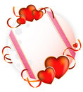 Valentine S Day. Bright Greeting Card Royalty Free Stock Photos - 12794888