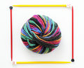 Colorful Ball Of Knitting Yarn Stock Photo - 12799380