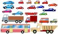 Cars Collection Stock Images - 12803634