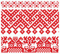 Russian Embroidery Old Pattern Royalty Free Stock Photography - 12819167