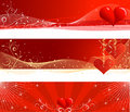 Valentine S Day Banners Stock Photos - 12830913